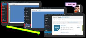 SiteGuard WP Plugin新規追加までの流れ画像